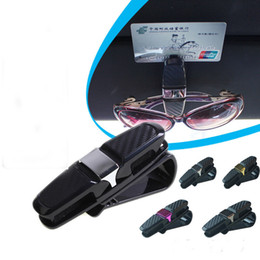 wholesale reading sunglasses Coupons - NEW Universal Car Auto Sun Visor Clip Holder For Reading Glasses Sunglasses Eyeglass Card Pen Interior Accessories Sunglass Clip