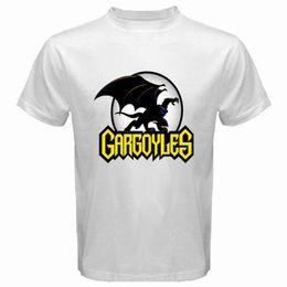 Argentina Nuevo Gargoyles Fiction Icon Videojuegos Camiseta blanca para hombre Talla S M L XL 2XL 3XL Suministro