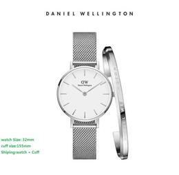 2019 relógios militares para mulheres Auto Data Hora Malha De Aço Relógios Militares Mulheres de Luxo Relógio de Quartzo Relógios Desportivos de Luxo Moda Relógios Cuff Bracelet relógios militares para mulheres barato
