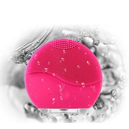 2019 accessorio sonico Strumento per la pulizia Spazzola per la pulizia del viso Pulizia del suono Sonic Pulizia della pelle Livello medico Silicone Impermeabile Strumenti per la cura della pelle Accessori accessorio sonico economici