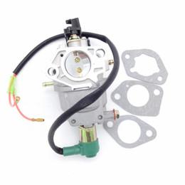 piccolo interruttore di alimentazione Sconti Nuovo HUAYI P27 P27-1 P27-2 Gas Generator motore gruppo carburatore tipo manuale