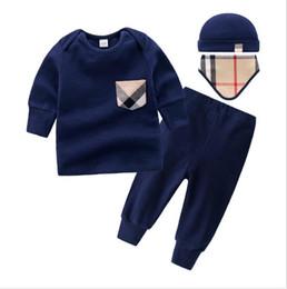 Trajes de halloween online-Nuevos niños pijamas bebé mamelucos recién nacido ropa de marca ropa interior de manga larga traje de algodón niños niñas otoño mamelucos