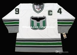 Personalized Custom Hartford Whalers 94 BRENDAN SHANAHAN Hartford Whalers  1995 CCM Vintage Hockey Jerseys hartford whalers jersey on sale baa37088b
