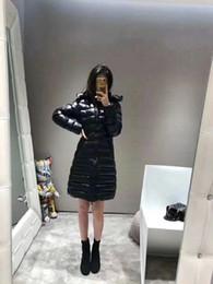 Giacca invernale da donna Giacca lunga da donna con cappuccio Modello slim Giacca in piuma d oca Cappotto caldo Cappotto lungo Femme 94