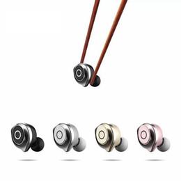 Mela cellulare online-Cuffie Bluetooth senza fili Mini auricolari compatibili con auricolari per auto Auricolari sportivi Auricolari per telefoni cellulari