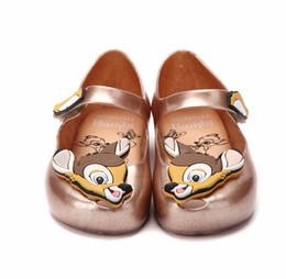 Детские босоножки онлайн-Girls Jelly Shoes 2019 Новые детские мультфильм сандалии обувь детская обувь мини Melissa Y19051403