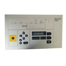 Controlador de plc online-Panel de control de computadora PLC para COMPAIR Compresor de aire Parte DELCOS 3100 3000 Placa de controlador PLC Inversor de CC 100005506