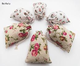 2019 маленькие сумочки для монетки Ручной хлопок белье хранения пакет мешок Drawstring сумка небольшой портмоне путешествия женщины небольшой мешок ткани Рождественский подарок сумки скидка маленькие сумочки для монетки