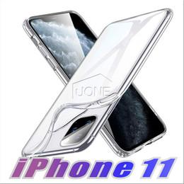 teléfonos baratos Rebajas 2019 para el nuevo iPhone 11 X PRO XS XR MAX 8 7 la caja del gel cristalino ultra fina transparente TPU casos claros para Samsung S10 E PLUS Nota 10 Pro 9