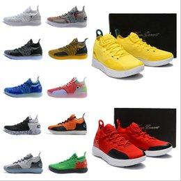 e862578b687e 2019 New Top Kevin Durant kd 11 Basketball Shoes mens durant Gold  Championship MVP Finals Training Sneakers Sports Running Shoes Size 40-46