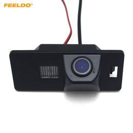 camara coche toyota rav4 Rebajas FEELDO retrovisores de coches cámara para AUDI A1 / A4 (B8) / A5 S5 Q5 TT / VW Passat R36 5D inversa cámara del estacionamiento # 3589