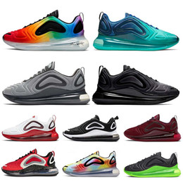nike air max 720 TN 720s Vapormax TOTAL ECLIPSE nero nero mare foresta uomo donna scarpe da corsa Northern Lights Day alba oro rosso scarpe da