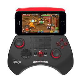 сенсорная панель samsung Скидка iPEGA PG-9028 Беспроводной Bluetooth игровой контроллер геймпад с сенсорной панелью для Samsung Galaxy S7/S8 / S9 HTC LG Android планшетный ПК