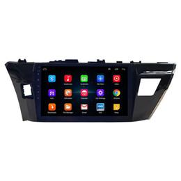 kia sorento radio gps Rebajas 10.1 pulgadas 2 Din Android 8.1 WiFi GPS radio de coche Reproductor de DVD del Corolla 2014-2016 coche