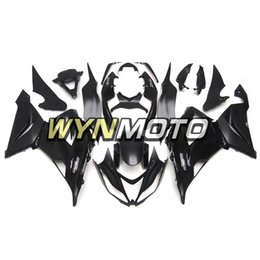 honda cbr f3 custom Rebajas Kit de carenado completo negro NINJA ZX6R 13-17 para Kawasaki ZX-6R 2013 2014 2015 2016 2017 Ninja ZX-6R 13 14 15 16 17 Kits de cuerpo de motocicleta