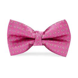 2019 ciao abito bambino Hi-Tie Nuovo Design Casual Bambini Bow Red Dot Cravatta Moda Baby Boy Girl Abito da sposa Accessori Bowties LH-064 ciao abito bambino economici