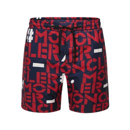 2019 nuevo diseño de moda de marca pantalón New Men Luxury Mon Brand pantalones de playa Diseño de moda de manga corta Casual de los hombres T Shirt Summer Gym Shorts envío gratis nuevo diseño de moda de marca pantalón baratos