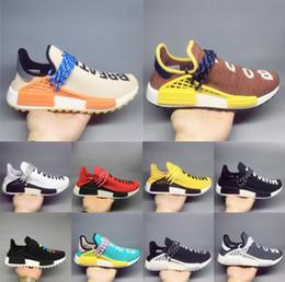 Course humaine Hu piste pharrell williams encre hommes chaussures de créateurs Nerd noir crème Holi formateurs femmes designer coureur de sport baskets taille ? partir de fabricateur