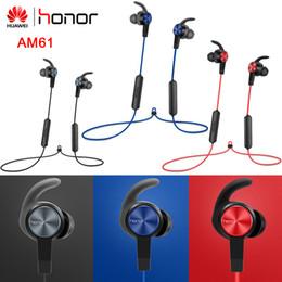 2020 vivo-headset Original Honor AM61 drahtloser Kopfhörer mit IP55 Ebene Bluetooth 4.1 HFP / HSP / A2DP / AVRCP für Honor Huawei Xiaomi Vivo rabatt vivo-headset