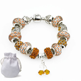e0972279bd2d famosas marcas de joyas Rebajas Famosa Marca de Plata Pulseras de Cadena de  Serpiente Fit Pandora