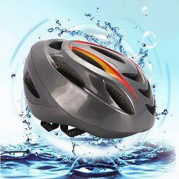 2019 luce della bici a distanza Impermeabile Mountain USB Ricarica Bike Casco Unisex Light Design Staccabile Regolabile Ciclismo Controller Wireless Remote Smart sconti luce della bici a distanza