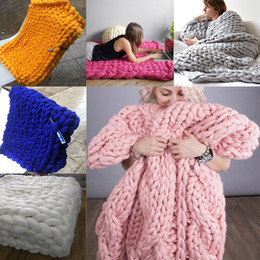 Wholesale Chunky Knit Blanket for Resale - Group Buy Cheap