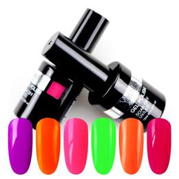 2019 neongel-nagellack Sommerkollektion Neongelb Rot Rosa Gel Nagellack UV LED Gel Lack Nägel Kunstlack Emaille 10ml günstig neongel-nagellack