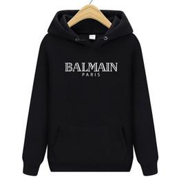 2019 modelli 3d personalizzati Moda Balmain Uomo Felpa Cappotti Giacca estesa longline hip hop streetwear slim donna justin bieber abiti rock t shirt Capispalla
