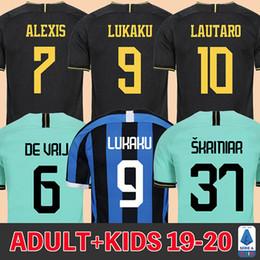 Futebol inter de milão on-line-19 20 inter Milan camisa de futebol 2019 2020 inter camisa de futebol LUKAKU ALEXIS ŠKRINIAR DE VRIJ BROZOVIĆ BARELLA POLITANO LAUTARO GODIN SENSI