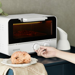 Joyoung Mini Electric Oven 220v 12l Small Baker Household Multifunction Pizza Donuts Cake Bread Baking Machine Oven 60minutes Timing