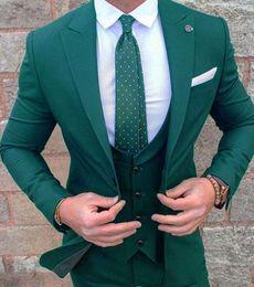 White Tuxedo Matching Pants Shirt In Desc Roblox - New Arrival Green Slim Fit Men Wedding Tuxedos Peak Lapel One Button Groom Tuxedos 2020 Style Men 3 Piece Suitjacket Pants Tie Vest 2067
