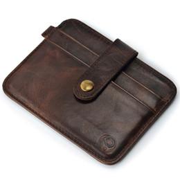 Designer-Kartenhalter aus echtem Leder Kreditkarteninhaber Brieftasche Männer Frauen Business Bank Card Case Geldbörsen Münztüte von Fabrikanten