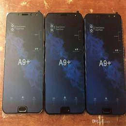 2019 сотовые телефоны a9 A9 + смартфон Android 7.1 A9 PLUS 4G LTE Octa поддельный 4 ГБ оперативной памяти мобильного телефона с ячейкой отпечатков пальцев скидка сотовые телефоны a9