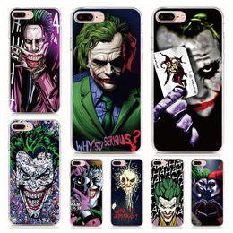2019 iphone joker Для iPhone XR X 6S чехол Мягкий ТПУ Печати шаблон Джокер Харли Куинн Высокое качество телефона чехлы 10 шт. Лот дешево iphone joker