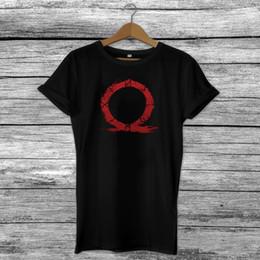 Omega savaş tanrısı ilham video oyunu online oyuncular t-shirt kratos ps4 fan s-xxl yaz o boyun tee, ücretsiz kargo ucuz tee, 2019 s cheap video war nereden video savaşı tedarikçiler