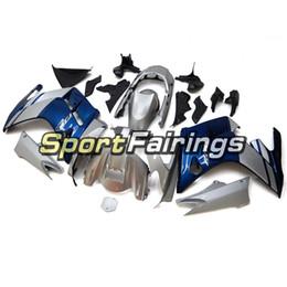 2019 zx14 verkleidung einspritzung Full Blue Silver Neue Sportbike-Rümpfe für das Jahr 2001 2002 2003 2004 2005 2006 Yamaha FJR1300 Komplette Kunststoffverkleidung 01 -06 Karosserie-Kit