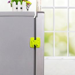 Segurança da porta do frigorífico on-line-Frigorífico Fechadura Do Armário Porta Do Banheiro de Segurança Bloqueio Para A Segurança Do Bebê Criança Bloqueio Dos Desenhos Animados Do Cão Filhote de Cachorro Forma de Segurança Fechadura Da Porta Do Refrigerador