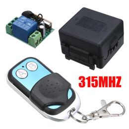 12v 2ch remote Desconto Onsale 315 MHZ Controlador Remoto DC 12 V 2CH Controle Remoto Sem Fio Rádio Relé Interruptor Receptor Transceptor
