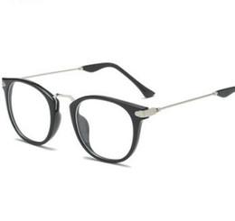 Nuovi occhiali da sole per uomo e donna versione coreana degli occhiali da vista Occhiali retrò anti-occhiali blu da
