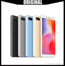 Canada Nouveau téléphone d'origine Xiaomi Redmi 6 3GB 32Go Xiaomi Helio P22 Octa Core CPU 12MP + 5MP double caméras 5.45