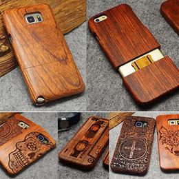 Natural Wood-Kasten für Samsung Galaxy Note 9 8 10 Pro S9 S10 Plus 100% Holz-Kasten für iPhone 11 Pro Max 7 8 6 6S Plus X XR XS Max T191017 von Fabrikanten