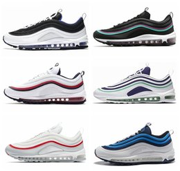 81287050a 97 OG Mens Running Shoes 97s Gym Red Persian Violet SE South Beach Triple  Black White Women Fashion Sports Designer Sneakers 40-46