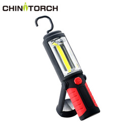 auto spotlight bulbs Promo Codes - Flexible COB LED Work Light Portable Hanging Hook Spotlight Lamp With Magnetic Super Bright Workshop For Auto Repair