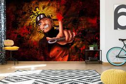 [Selbstklebend] 3D Naruto 93434533 Japan Anime Wall Paper Wandbild Wall Print Decal Murals von Fabrikanten