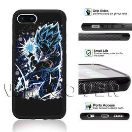 2019 dragão bola broly Dragon Ball Super Instinct Mastere22 Goku Vegetto Preto Filho Ultra Vegeta Broly Gogeta Jiren Phone Case Para Frieza IPhone Beerus 6 s T6 Capa