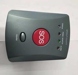 système de sécurité à numérotation automatique Promotion Wolf-Guard 433MHZ Panneau de boutons SMS SOS GSM sans fil Une clé d'alarme pour enfants aînés d'urgence pour le système de sécurité d'alarme à domicile 007EG