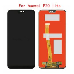 parts for huawei Promo Codes - 10Pcs For Huawei Nova 3E P20 Lite ANE-LX1 ANE-LX3 LCD Display Touch Screen Digitizer Assembly Repair Parts