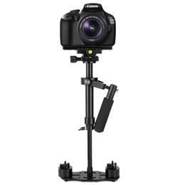Lightdow S40 / S60 Aliminum Legierung Professionelle Stabilisator Steadicam Kamera Halterung Halter für Canon Nikon Sony Pentax Fuji Kameras von Fabrikanten