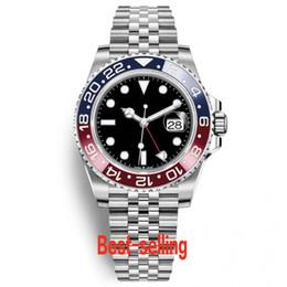 Relojes de lujo para hombre Top de lujo Basilea Rojo Azul Pepsi mecánico automático Hombre de lujo Relojes de negocios luminosos Reloj impermeable desde fabricantes
