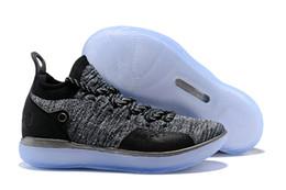 Случайный кд онлайн-Мужская повседневная обувь KD 11 Still KD 11 Мужская повседневная обувь KD 11 Still KD с коробкой 40-47